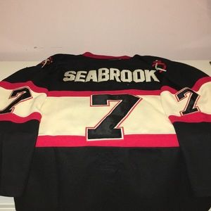 Reebok Shirts - Brent Seabrook Chicago Blackhawks Jersey